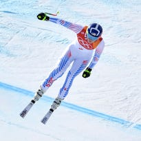 Lindsey Vonn wins bronze medal in downhill at 2018 Winter Olympics