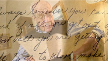 Photos: A 1952 recruitment letter from Joe Paterno