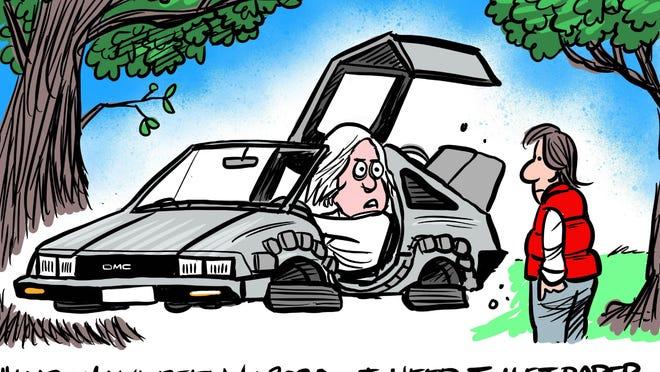 Cartoon by Marshall Ramsey
