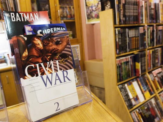 TO GO WITH AFP STORY-US-BOOKS-COMICS-SPI