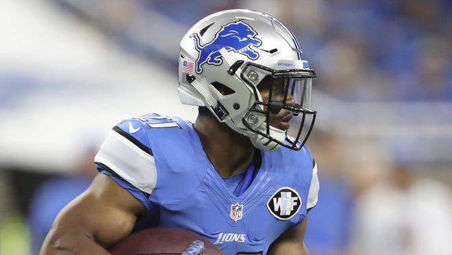 The Lions placed RB Ameer Abdullah on IR.