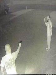 A suspected prowler was confronted by an armed homeowner on camera in Rankin County.