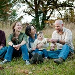 The Burnette family, from left, Gary Burnette, Alex Burnette, Amelia Burnette, Keenan Lewis (on lap), Robert Lewis and Bonnie Burnette.