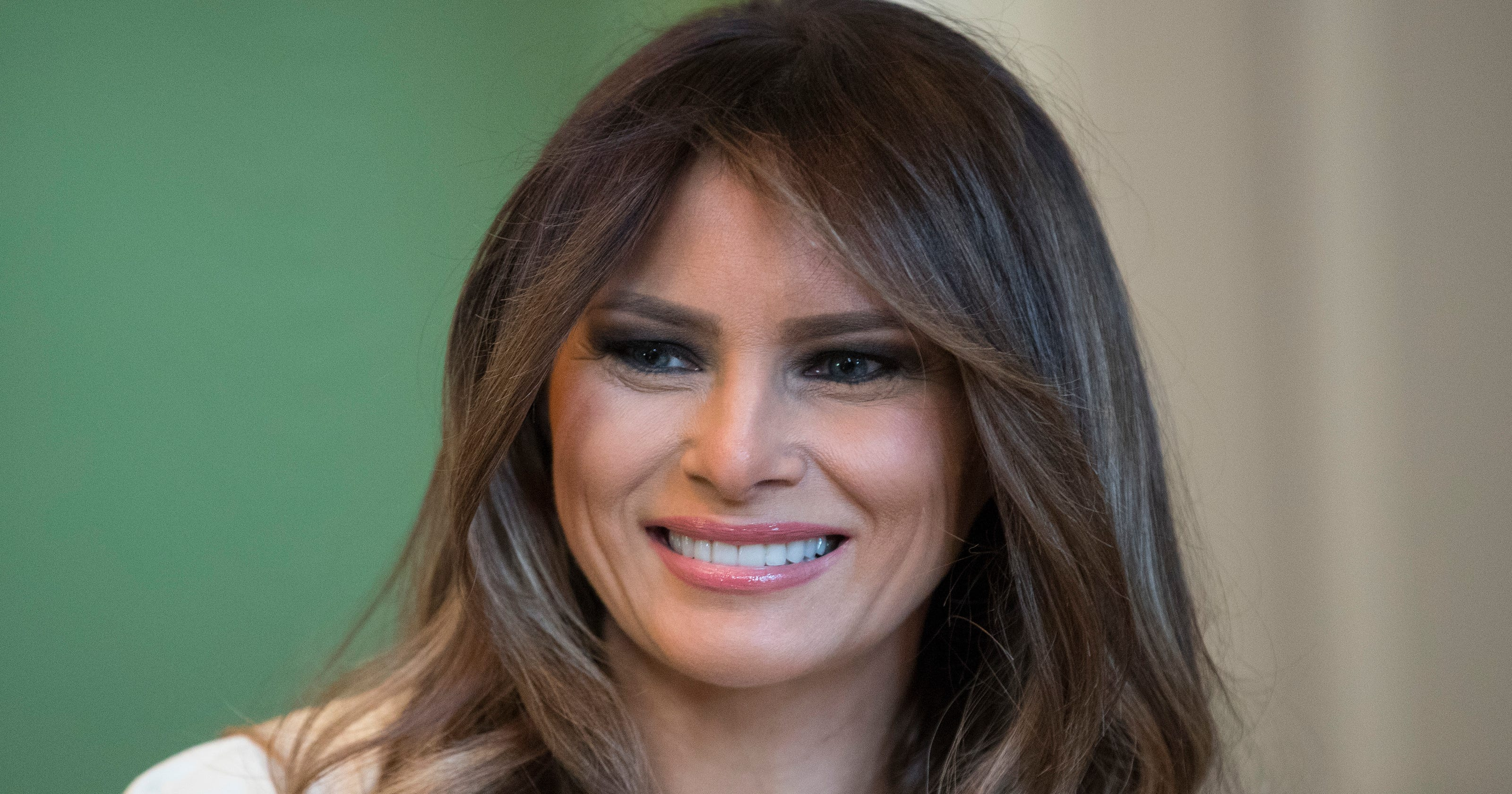 7034f2f540ba Will we see more of first lady Melania Trump in 2018 than in 2017?