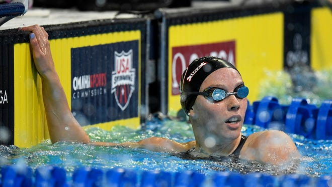 Spring Grove-native Hali Flickinger will be honored prior to the York Revolution's Labor Day game on Sept. 5 to recognize her for her seventh place finish in the 200-meter butterfly at the 2016 Olympics. Flickinger will throw out the ceremonial first pitch.
