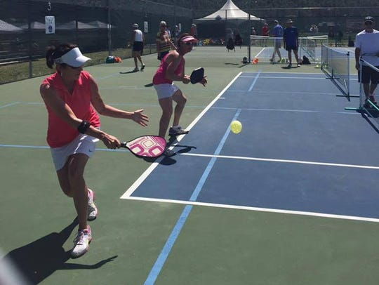The Ruidoso Pickleball Champpionship attracted players