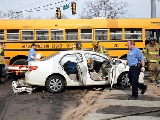 Jackson car crash