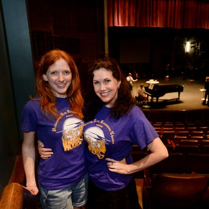 "Kimilee Bryant, a former Broadway actor, co-founded the non-profit Performing Arts Renaissance Theatre with her sister Candice Bryant. The two are rehearsing for their upcoming show, ""Into the Woods."""