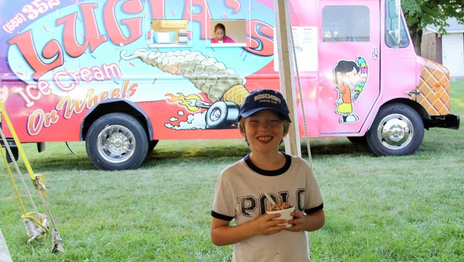 A Lugia's ice cream truck will be on hand at the Brockport Homecoming Festival. photo by Caurie Putnam
