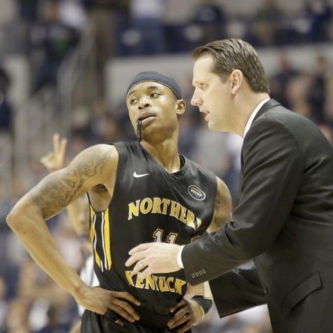 Former NKU basketball player Todd Johnson