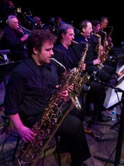 The saxophone section in the Cincinnati Contemporary