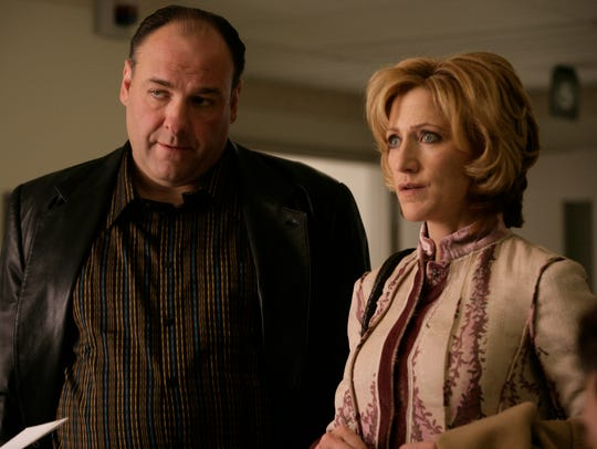 Talk about a ride or die couple. Tony and Carmela Soprano