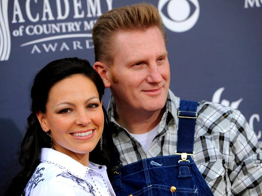 "Joey Feek and husband Rory Feek, of ""Joey + Rory,"""