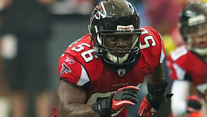 OLB Sean Weatherspoon has emerged as the Falcons' top defensive player.