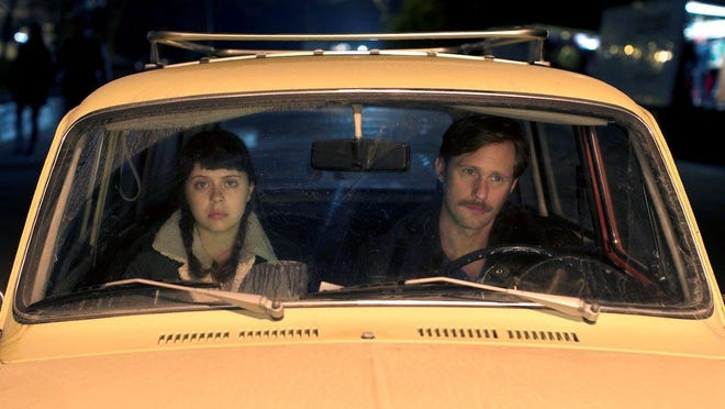 """Bel Powley, left, and Alexander Skarsgard in """"The Diary of a Teenage Girl,"""" which will screen Sunday, Jan. 25, at the Sundance Film Festival as part of the U.S. drama competition. The film is based on a graphic novel by University of Michigan associate professor Phoebe Gloeckner."""
