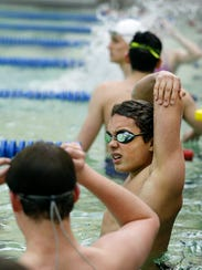 AGR swimmer Sam Rivera is a Brighton freshman that has overcome many obstacles in his life, including being diagnosed with Tourette Syndrome. He hopes to swim in Olympics someday.