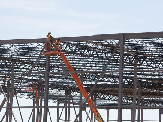 Construction continues on the Las Cruces-based company