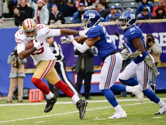 49ers Giants Football (2)