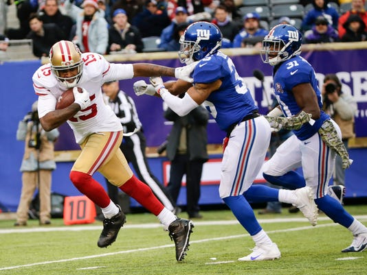 49ers Giants Football (2)