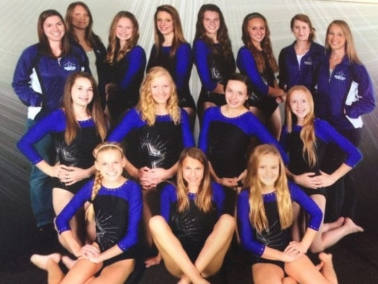 The 2013 Green Bay YMCA Gymstars coached by Robin Schmit