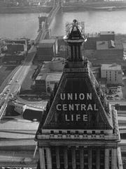 The Union Central Life Building, now Fourth and Vine Tower, was the fifth tallest building in the world in 1913.