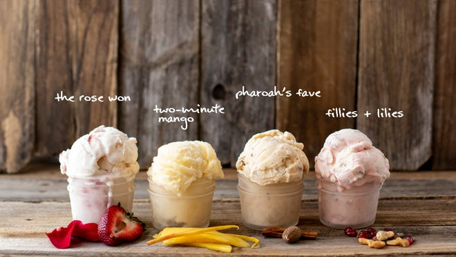 Celebrate the Kentucky Derby with four tasty seasonal flavors from The Comfy Cow