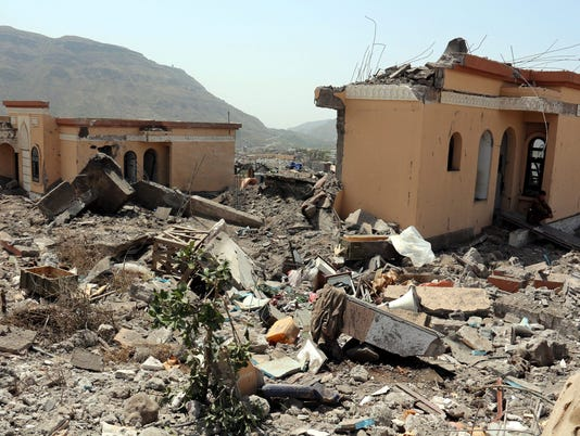 EPA YEMEN UNREST SAUDI LED AIR STRIKES WAR CONFLICTS (GENERAL) YEM