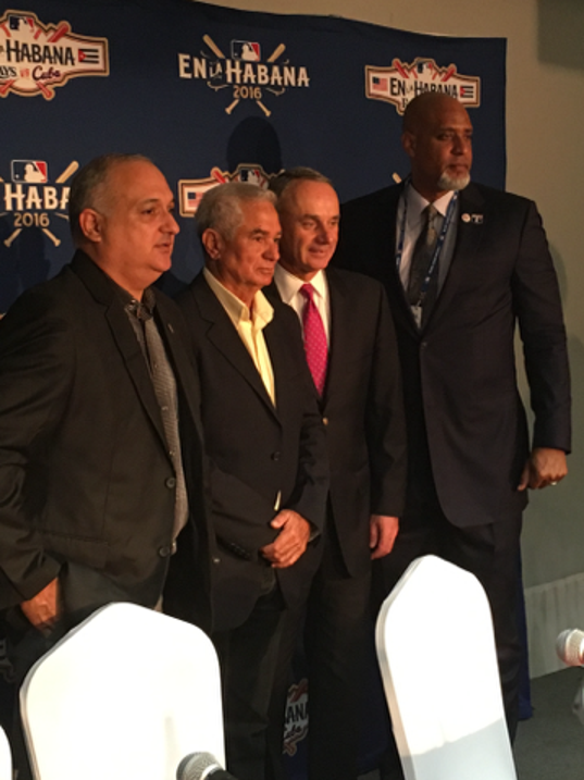 MLB commissioner Rob Manfred, Cuban officials at odds over player transfers