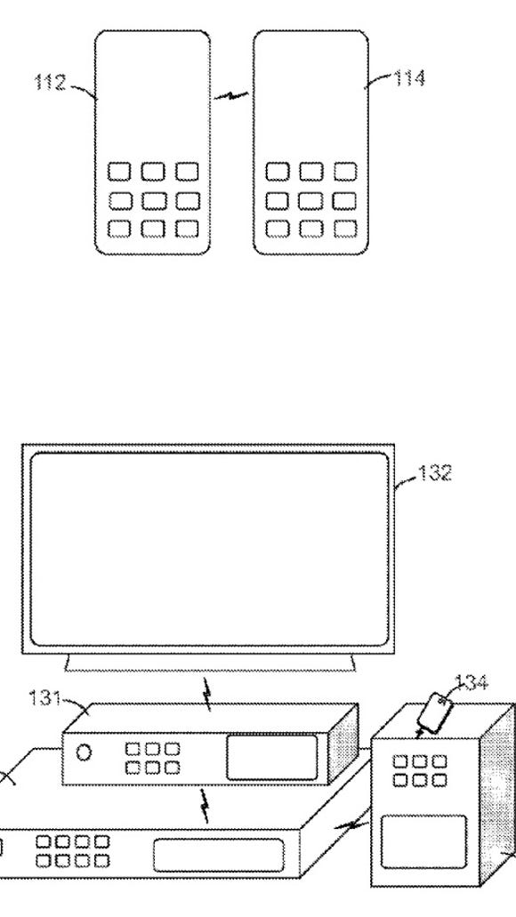 An image from a patent owned by Sony featuring the
