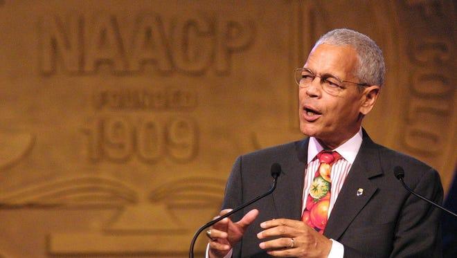 Julian Bond, 2002 NAACP National Board of Directors' chairman.