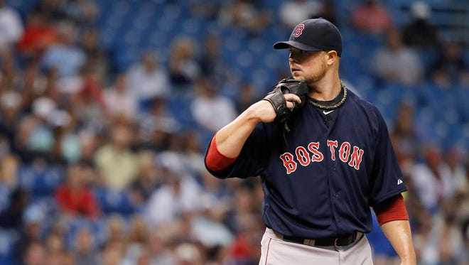 Jon Lester, 30, is 10-7 with a 2.52 ERA this season with the Red Sox.