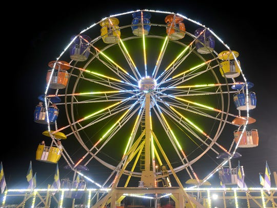 The West Tennessee State Fair opened Tuesday. The fair continues through Sunday, Sept. 18.