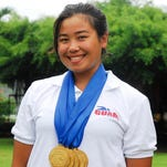 Pilar Shimizu competed in the women's 100m breaststroke heats at the 2012 London Olympic Games. She will represent Guam again in the 2016 Rio Olympics