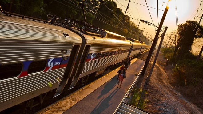 A SEPTA train hit a pedestrian on the tracks at Eddystone Station in Pennsylvania Tuesday morning. Service to Philadelphia is currently suspended, according to a SEPTA spokesman.