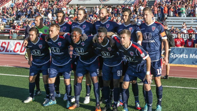 The Indy Eleven fell to Carolina 3-2 on Saturday night.