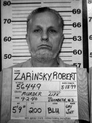 Robert Zarinsky is shown in a photo taken by the New