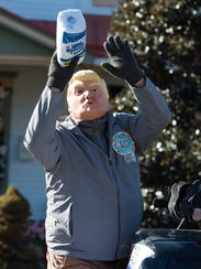 The Hummers Parade, a New Year's Day tradition in Middletown,