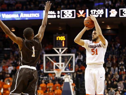 NCAA Basketball: Lehigh at Virginia