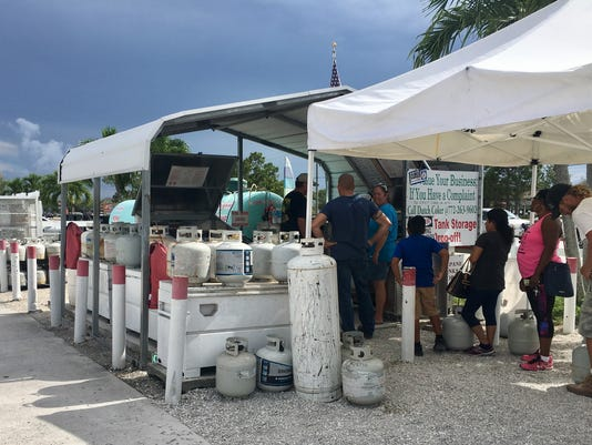 Irma propane in Martin County