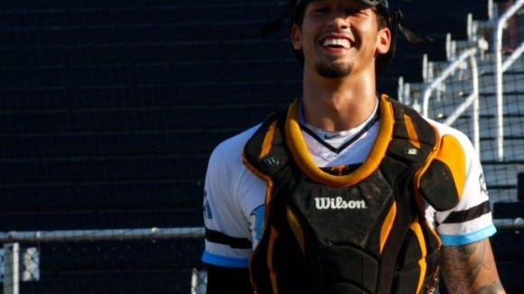 Roberson graduate Dominick Cammarata is currently a member of the Morehead City Marlins.