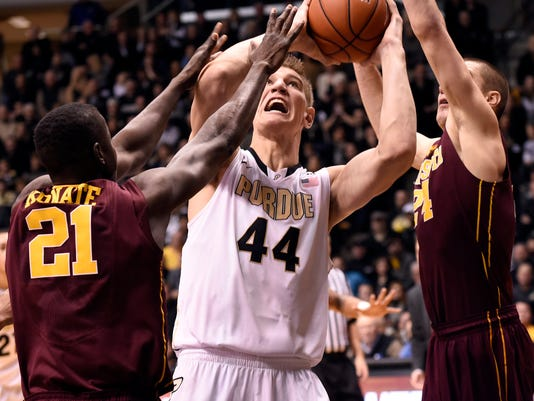 NCAA Basketball: Minnesota at Purdue