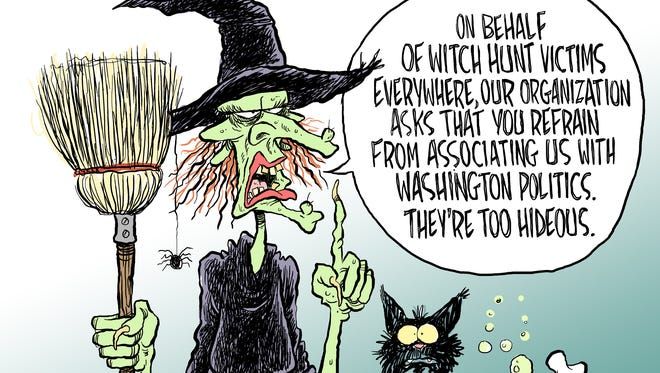 Witch hunt commentary from Andy Marlette