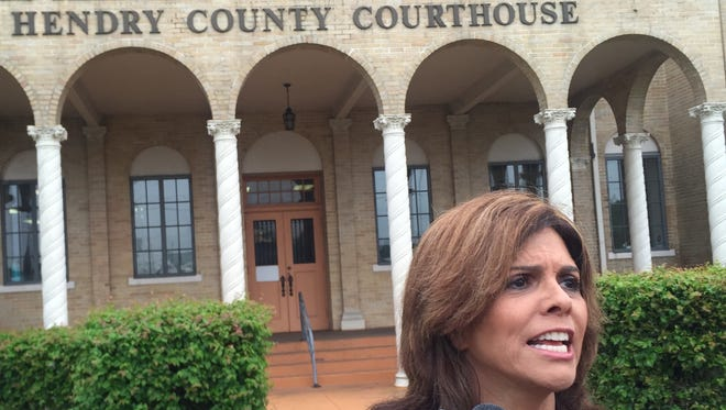 Independent journalist Jane Velez-Mitchell is attending the Hendry County monkey farm trial in LaBelle.