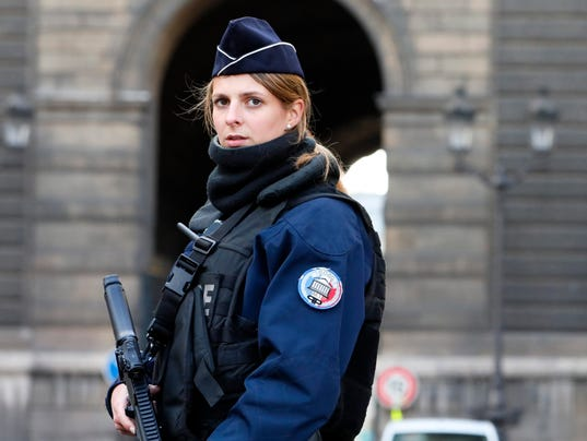EPA FRANCE LOUVRE SHOOTING WAR ACTS OF TERROR FRA