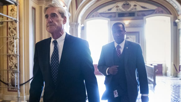 n this June 21, 2017, file photo, special counsel Robert