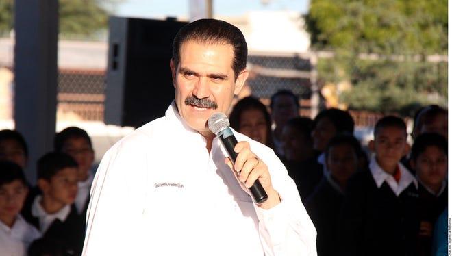 Guillermo Padrés, gobernador de Sonora.