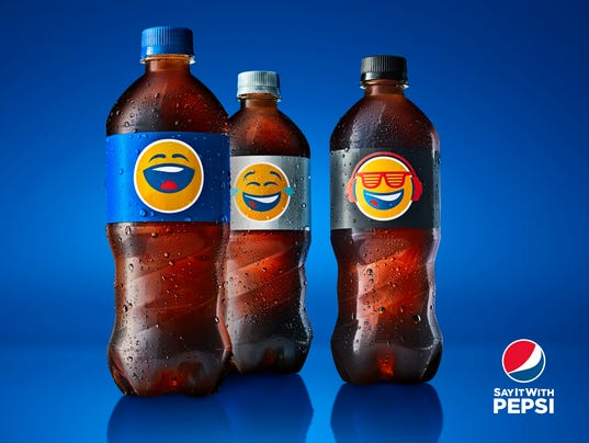 pepsi goes for brevity with five
