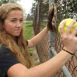 Elaina McClellan made a huge jump going into her senior season to become the All-County Softball Player of the Year.