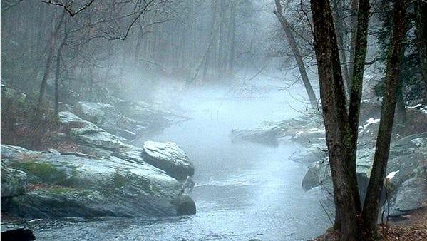You can enjoy a winter day on Maryland's Gunpowder Falls.
