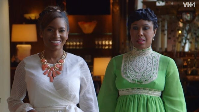 """A scene from VH1's """"Sorority Sisters,"""" a show that's been controversial."""